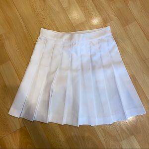 Los Angeles Apparel white tennis skirt